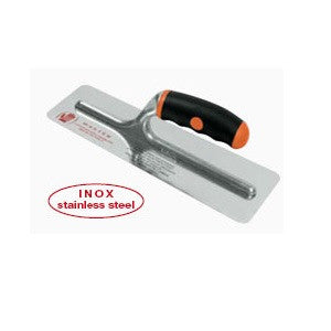 Plastering Trowel - Stainless Steel Soft Grip