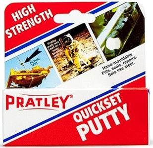 Pratley Quickset Putty - 125 Grams-Pratley-Atlas Preservation