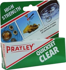 Pratley Quickset Clear Epoxy - 40 ML