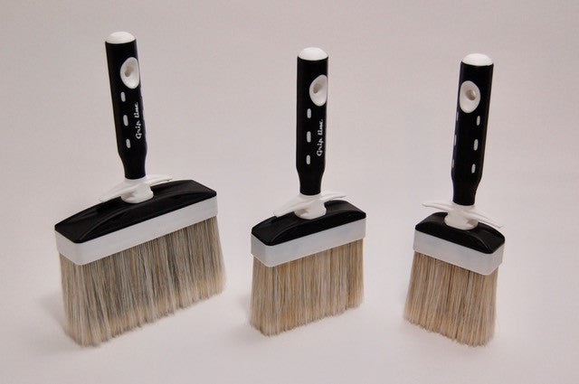 "SILVER Lime Paint Brush - 5""-Rex Pennelli-Atlas Preservation"