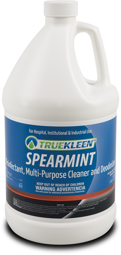 Spearmint Disinfectant, Multi-Purpose Cleaner & Deodorizer - 1 Gallon-TrueKleen-Atlas Preservation