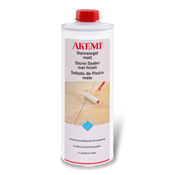 Stone Sealer Matte Finish - 1 Liter-Akemi-Atlas Preservation