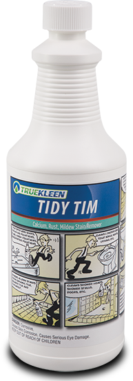 Tidy Tim - Bathroom cleaner for porcelain, tile, enamel, & metal - 1 quart-TrueKleen-Atlas Preservation