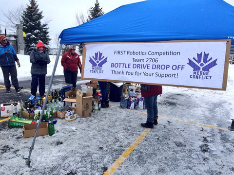 Bottle Drive in the past