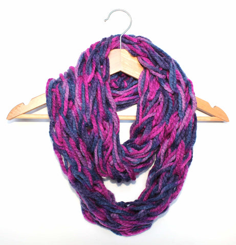 Nightjar Arm Knitted Infinity Scarf