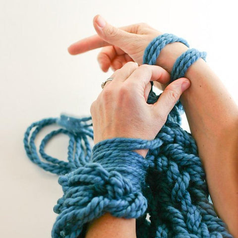 Arm Knitting Tutorial Digital Download