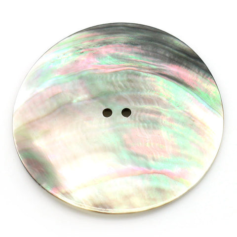 Large Mother of Pearl Button 50mm