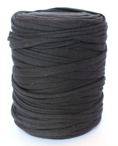 Black Polo Fabric T-Shirt Yarn