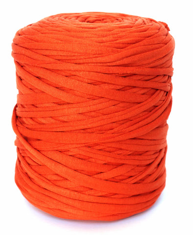 Burnt Orange T-Shirt Yarn