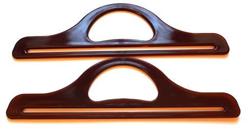 Amber Effect Bag Handles