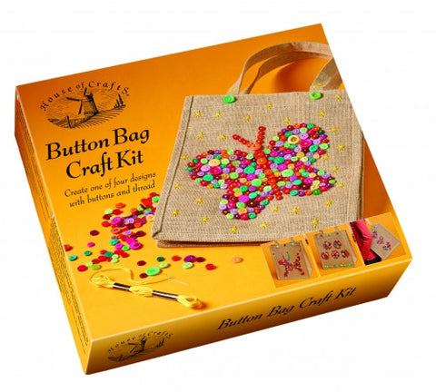 Button Bag Craft Kit