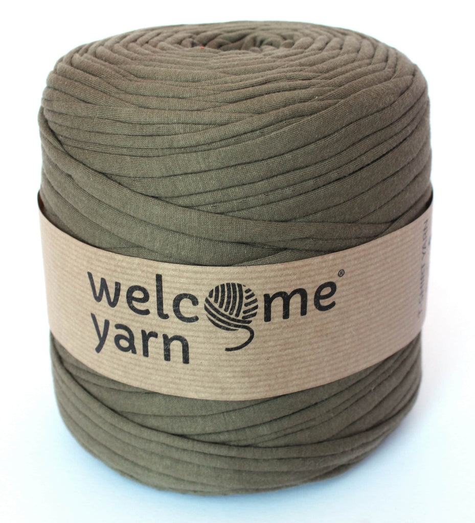 Olive Green T-Shirt Yarn