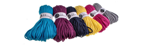 Bobbiny Cotton Cord Rope 50 Metres Various Colours