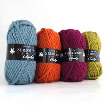 Cygnet Seriously Chunky Yarn Various Colours