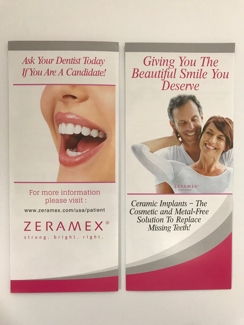 Zeramex Patient Flyer