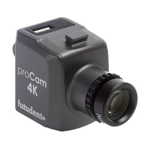 Futudent proCam: miniature 4K dental video camera