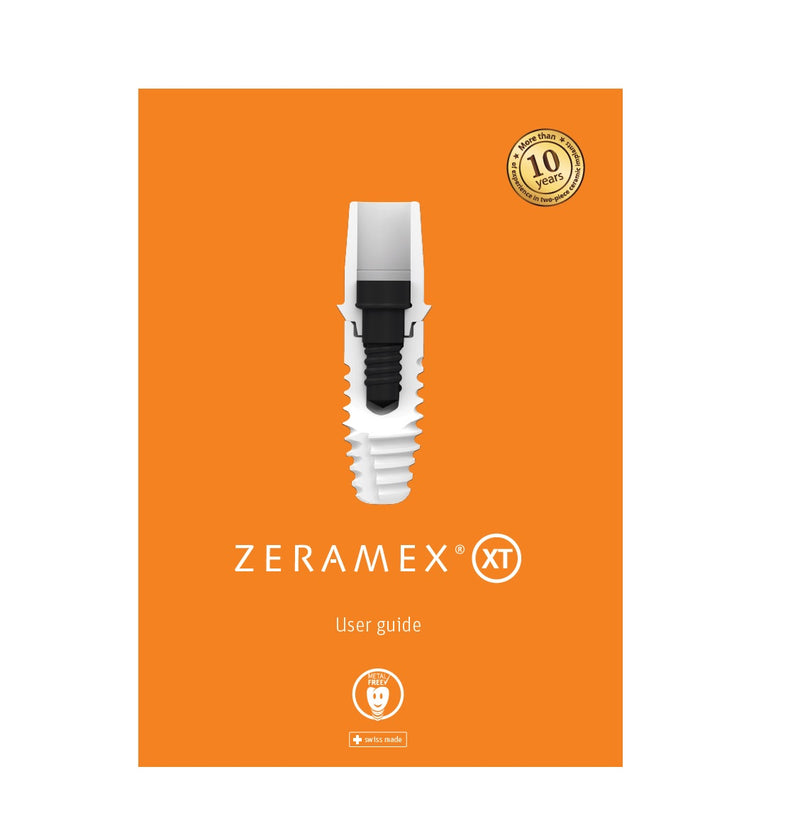 ZERAMEX XT USER GUIDE -