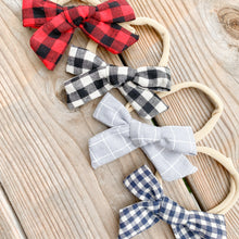 Load image into Gallery viewer, Baby/Toddler Hair Bows with Nylon Headband