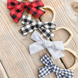 Baby/Toddler Hair Bows with Nylon Headband