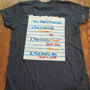 Train, Challenge, Repeat Cotton Short Sleeve Running Shirt - Fun Run Box