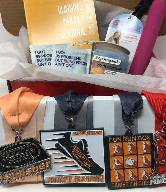 Half Marathon Gift Box - Fun Run Box