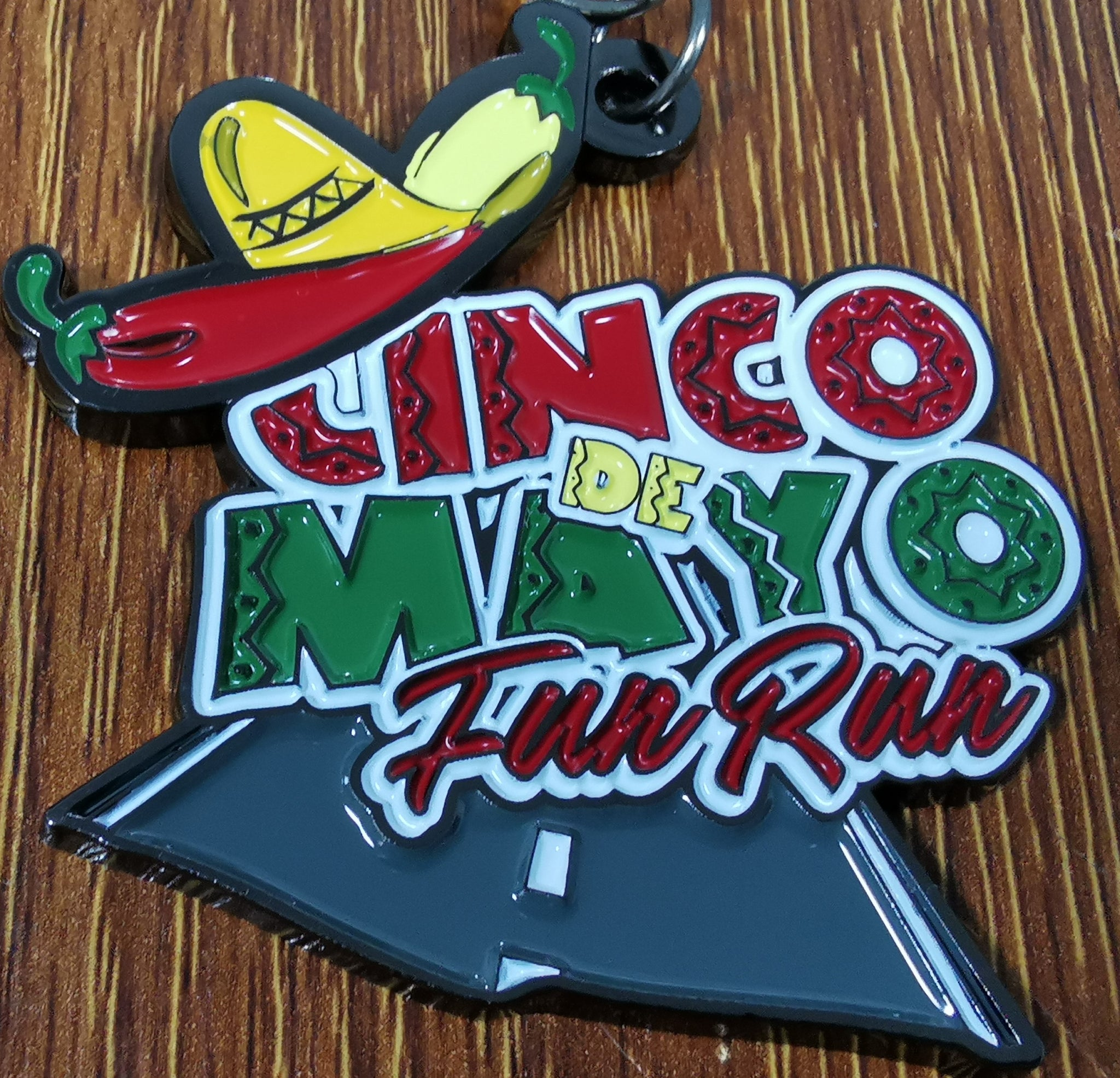 Cinco de Mayo Virtual Race - Fun Run Box