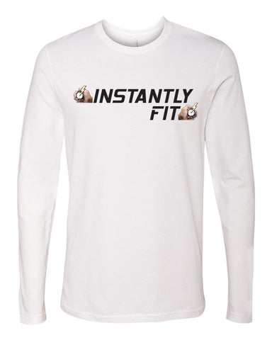 Men's Premium Fitted Long Sleeve Crew