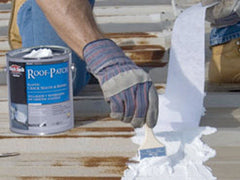 White Roof Patches & Sealants