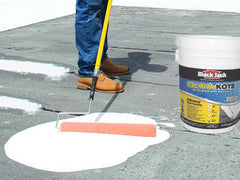 White Silicone Roof Coatings