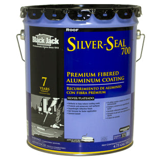 Aluminum Roof Coatings. Black Jack® Silver Seal 700