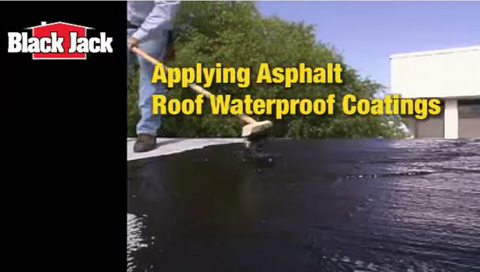 How-To Apply an Asphalt Roof Coating