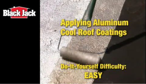 How-To Apply Aluminum Roof Coatings