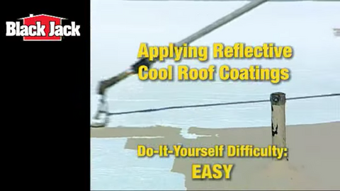 How-To Apply an Elastomeric White Cool Roof Coating