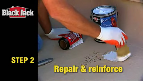 How-to Prep a Roof and Apply Reflective Coatings