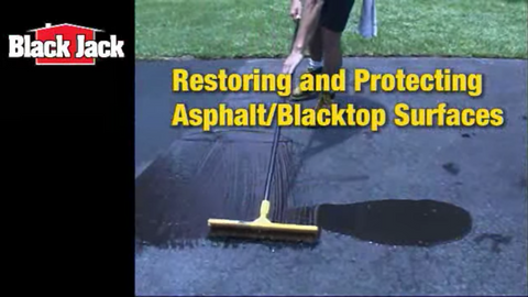 How-To Seal Blacktop and Asphalt Driveways