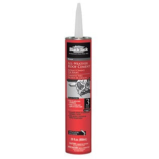 Black Jack® All Weather Roof Cement   Tube