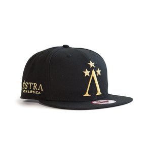 Astra Athletica New Era NewEra 950 9FIFTY Podium Gold Snapback Hat Headwear Activewear Gym Workout Lifestyle Athletic Clothes
