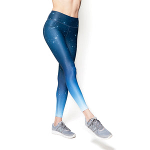 Astra Athletica Stellar Leggings Women Ombre Activewear Workout Gym Clothes Tops Athleisure