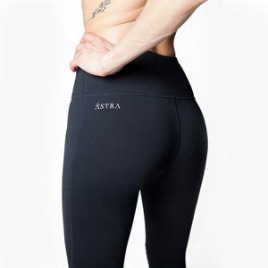 Astra Athletica Victoria Leggings Women Activewear Workout Gym Clothes Athleisure Bottoms Pants Pleats High Waist 7/8