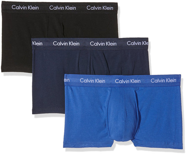 Cotton Stretch Low Rise Trunk (3 Pack)