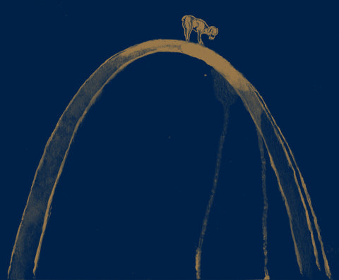 St. Louis Rams Inspired - Gateway to the West Print