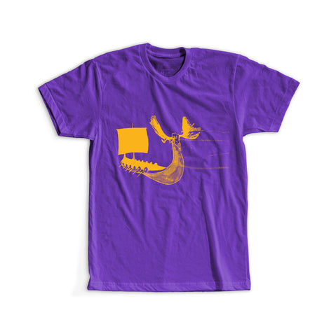 Minnesota Vikings Inspired - The Longboat Tee