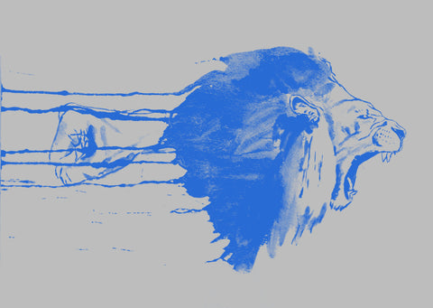 Detroit Lions Inspired - Motor City Print