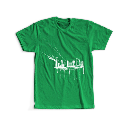 New York Jets Inspired - Big Green Apple Tee