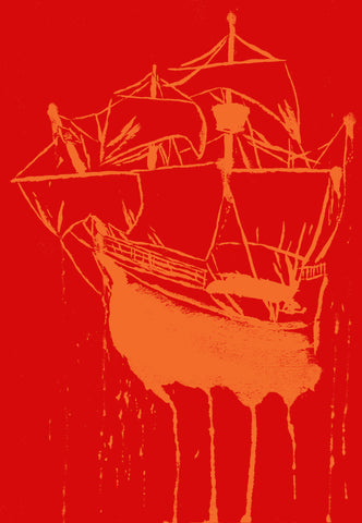 Tampa Bay Buccaneers Inspired - Pirate's Landing Print