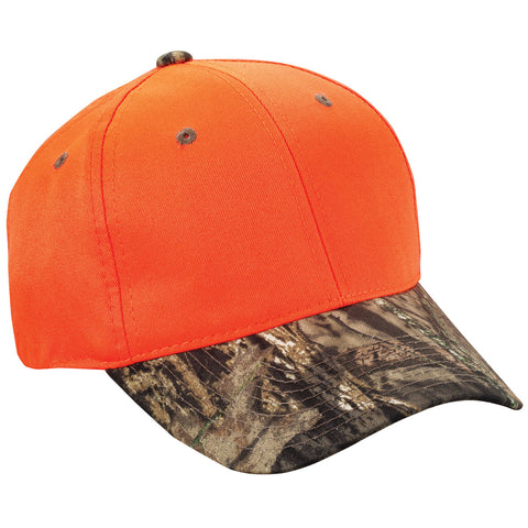 Outdoor Cap - Blaze Crown With Camo Visor