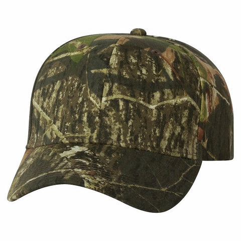 Outdoor Cap Six Panel Camo