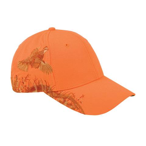 Dri Duck Blaze Orange Quail Hat