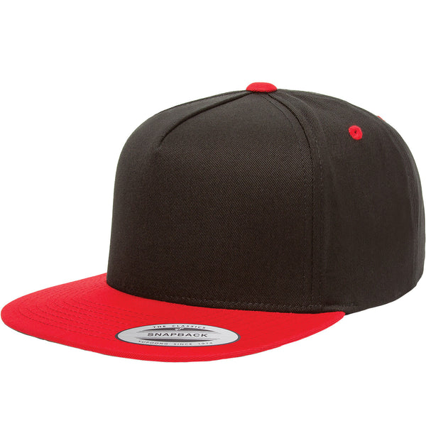 Yupoong Five-panel Flatbill Cap