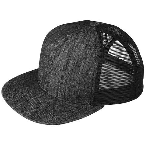 Mega Cap - Six-panel Flat Bill Trucker